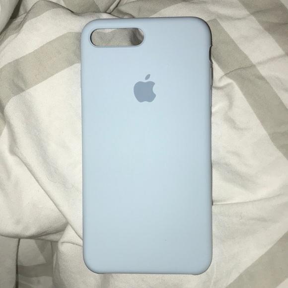 new concept f22d3 778fa iPhone 7/8 Plus Sky Blue Apple Silicone Case